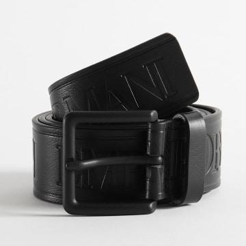 Emporio Armani - Ceinture Cuir Y4S478-YSS6V Noir