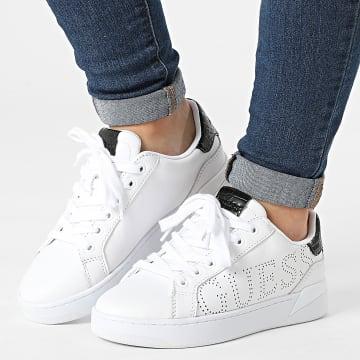 Guess - Baskets Femme FL7RRIELE12 White Black