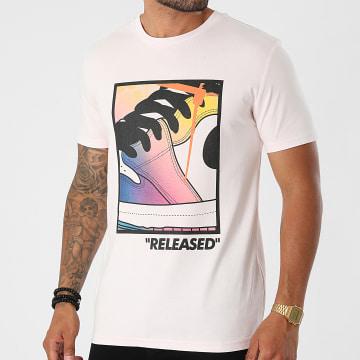 Luxury Lovers - Tee Shirt Released Colors Rose Pastel