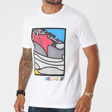 Luxury Lovers - Tee Shirt Released BA Blanc