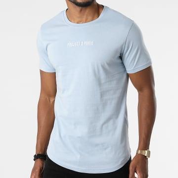 Project X Paris - Tee Shirt Oversize 2110158 Bleu Clair
