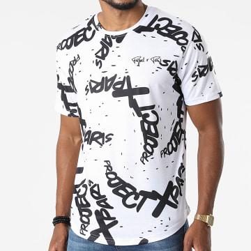 Project X Paris - Tee Shirt Oversize 2110161 Blanc