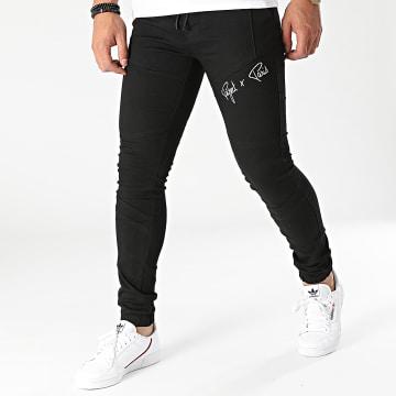 Project X Paris - Jogger Pant Jean Super Skinny TP21044 Noir