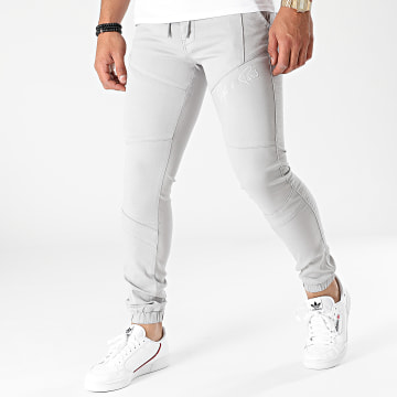 Project X Paris - Jogger Pant Jean Super Skinny TP21044 Gris