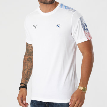 Puma - Tee Shirt BMW Motorsport 531183 Blanc