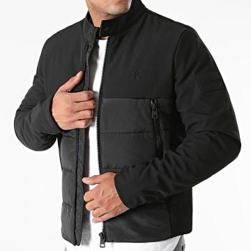 Calvin Klein - Veste Zippée Moto 8218 Noir