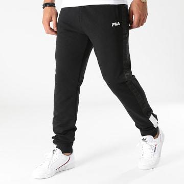 Fila - Pantalon Jogging A Bandes Narvel 688998 Noir