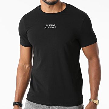 Armani Exchange - Tee Shirt 6KZTAB-ZJ5ZZ Noir Argenté