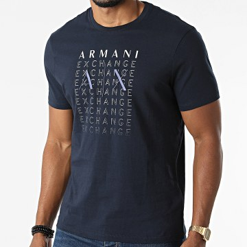 Armani Exchange - Tee Shirt 6KZTBW-ZJV5Z Bleu Marine