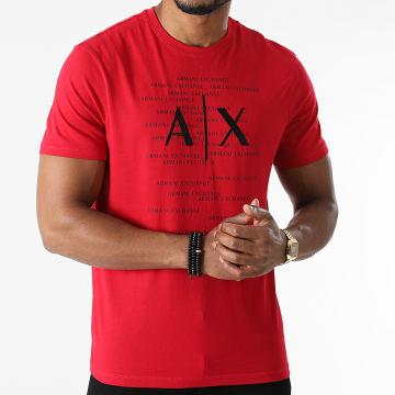 Armani Exchange - Tee Shirt 6KZTBR-ZJV5Z Rouge