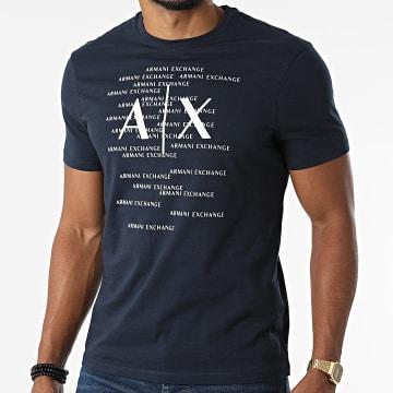 Armani Exchange - Tee Shirt 6KZTBR-ZJV5Z Bleu Marine