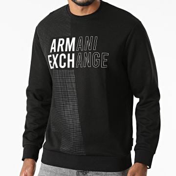 Armani Exchange - Sweat Crewneck 6KZMFA-ZJY1Z Noir
