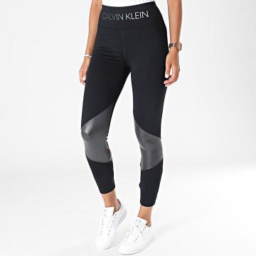 Calvin Klein - Legging De Sport Femme 00GWT1L661 Noir