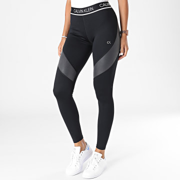 Calvin Klein - Legging De Sport Femme 00GWT1L663 Noir