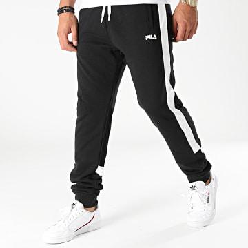 Fila - Pantalon Jogging A Bandes Davis 689026 Noir