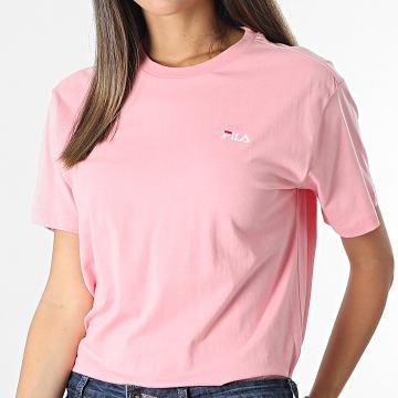 Fila - Tee Shirt Femme Efrat 689117 Rose
