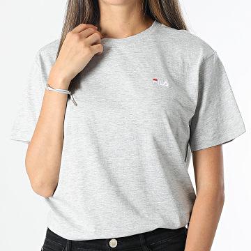 Fila - Tee Shirt Femme Efrat 689117 Gris Chiné