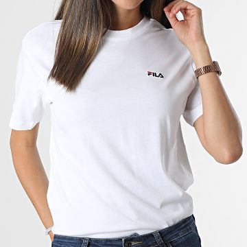 Fila - Tee Shirt Femme Efrat 689117 Blanc