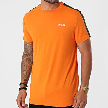 Fila - Tee Shirt A Bandes Nam 689137 Orange