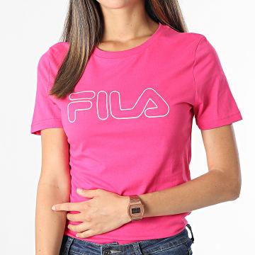 Fila - Tee Shirt Femme Ladan 683179 Rose