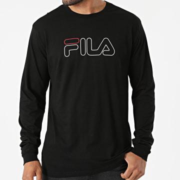 Fila - Tee Shirt Manches Longues Laurus 683210 Noir