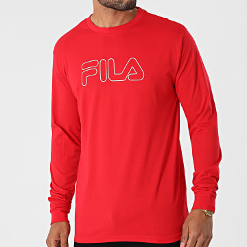 Fila - Tee Shirt Manches Longues Laurus 683210 Rouge
