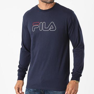 Fila - Tee Shirt Manches Longues Laurus 683210 Bleu Marine