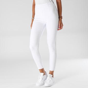 Girls Outfit - Jean Skinny Femme B1007 Blanc