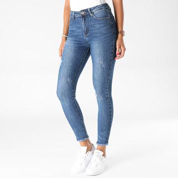 Girls Outfit - Jean Skinny Femme R795 Bleu Denim