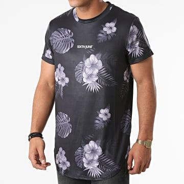 Sixth June - Tee Shirt Oversize M22372VTS Noir Floral