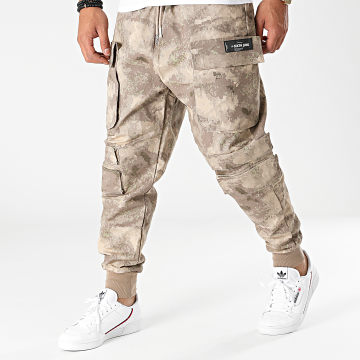 Sixth June - Jogger Pant M22361CPA Beige Camouflage