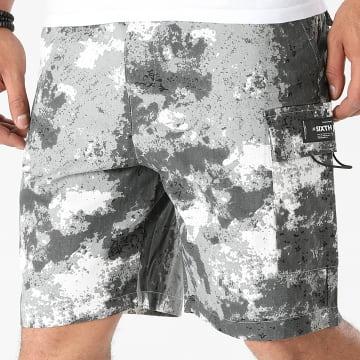 Sixth June - Short Jogging M22365CST Gris Camouflage