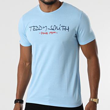 Teddy Smith - Tee Shirt Ticlass Basic Bleu Clair