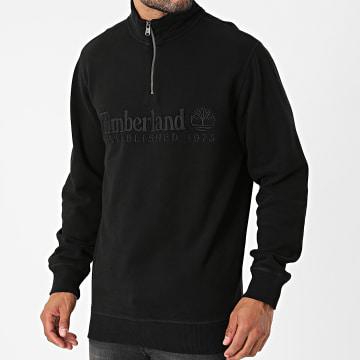Timberland - Sweat Col Zippé OA Linear A2CRB Noir