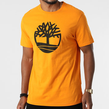 Timberland - Tee Shirt Kennebec River Brand Tree A2C2R Orange