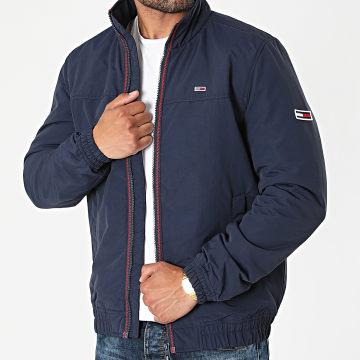Tommy Jeans - Veste Zippée Essential Padded 0975 Bleu Marine