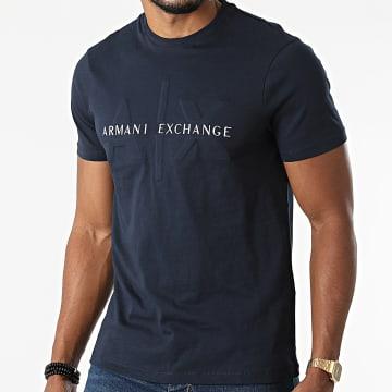 Armani Exchange - Tee Shirt 6KZTBQ-ZJV5Z Bleu Marine