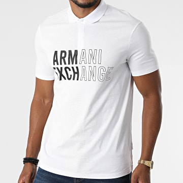 Armani Exchange - Polo Manches Courtes 6KZFFA-ZJBVZ Blanc
