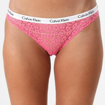 Calvin Klein - Culotte Femme 3860E Rose
