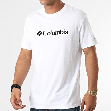 Columbia - Tee Shirt Basic Logo 1680053 Blanc
