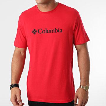 Columbia - Tee Shirt Basic Logo 1680053 Rouge