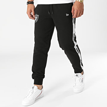 New Era - Pantalon Jogging A Bandes NFL Taping 12865326 Noir