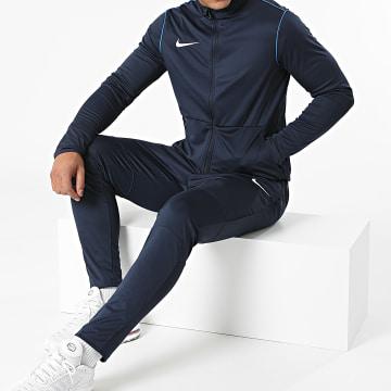 Nike - Ensemble De Survêtement Dri-Fit Bleu Marine
