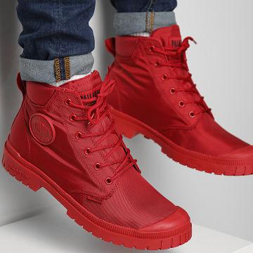 Palladium - Boots Pampa Slim Cuff Waterproof 76835 Red Salsa