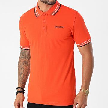Teddy Smith - Polo Manches Courtes Pasian Orange
