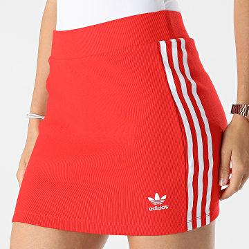 Adidas Originals - Jupe Femme A Bandes H38760 Rouge