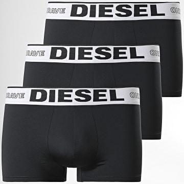 Diesel - Lot De 3 Boxers A01963-0DEAA Noir