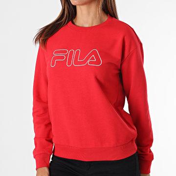 Fila - Sweat Crewneck Femme Lara 683501 Rouge