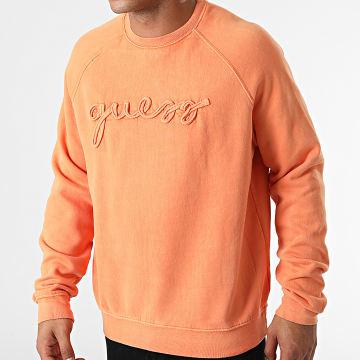 Guess - Sweat Crewneck M1YQ55-KAOR1 Orange