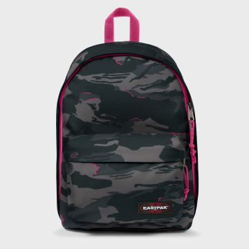 Eastpak - Sac A Dos Out Of Office Oultine Gris Camouflage